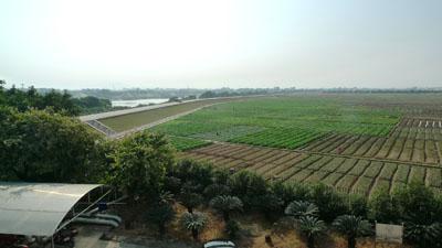 我院负责人赴广州白云区人和镇考察广州绿田创意农业