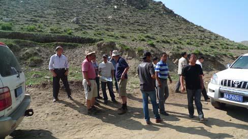 我院对新疆青河县塔克什肯口岸旅游,三道海子景区规划